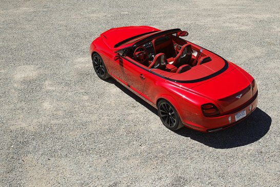 Bentley Continental Supersports Convertible: Video