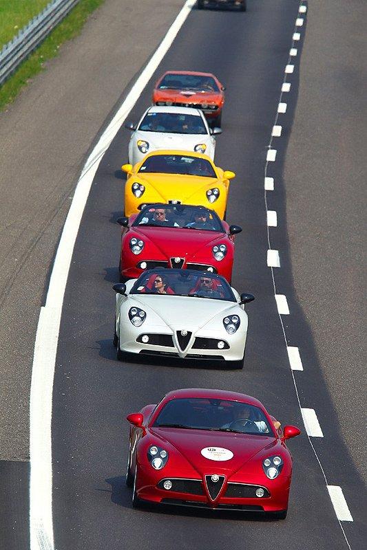100 Jahre Alfa Romeo in Mailand: Rückblick