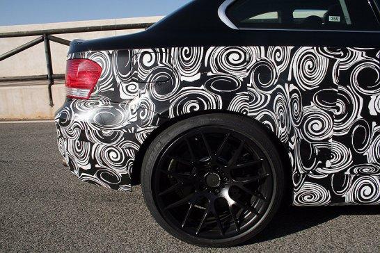 BMW 1er M Coupé: Testfahrt im Erlkönig