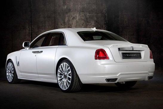 Rolls-Royce Ghost by Mansory: Geisterstunde
