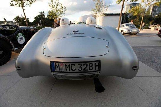 Im BMW 328 Mille Migila Roadster von Hamburg nach Berlin