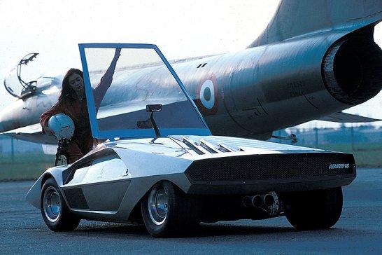 Classic Concepts: 1970 Stratos Zero by Bertone
