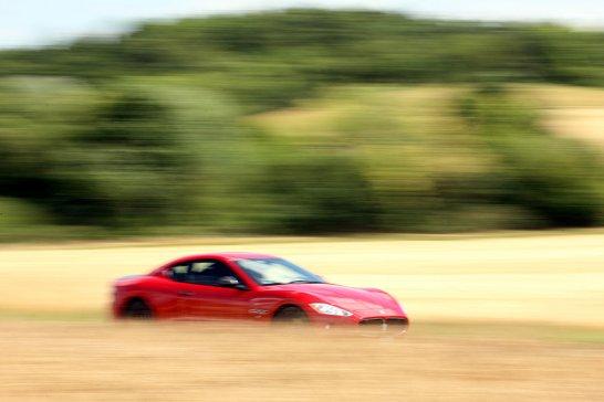 Maserati GranTurismo S Automatica: Road Trip to Reims