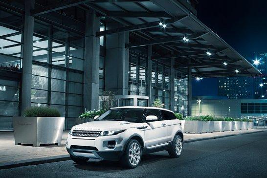 Paris 2010: Range Rover Evoque