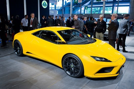 Lotus Shocks the World at the Paris Show
