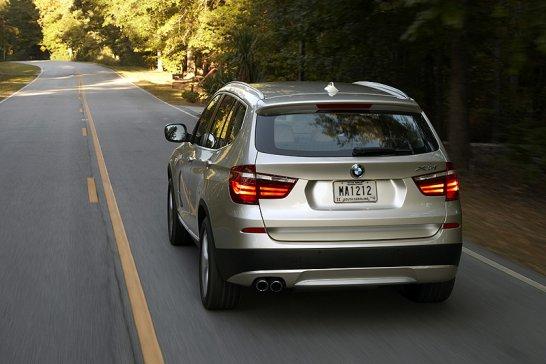 BMW X3 xDrive35i: Ein Zeichen von Größe