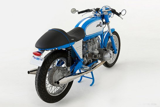 BMW R60/5 Cafe Racer: California Blue