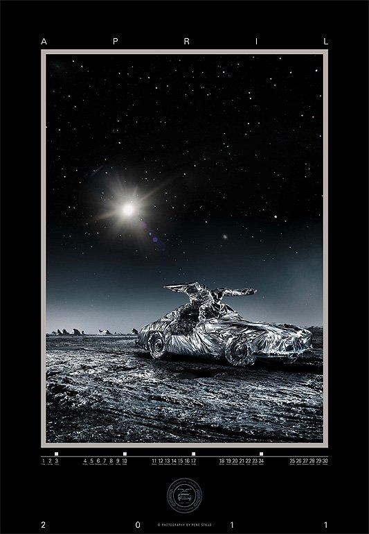 Druckfrisch: René Staud 300 SL Kalender 2011