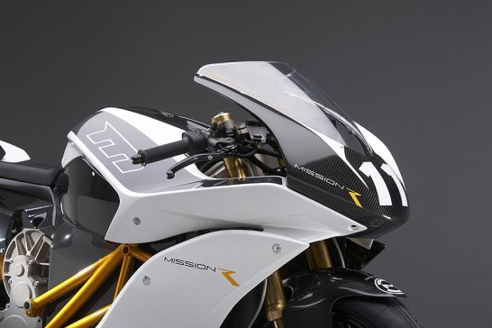 Mission R: the 160mph Electric Superbike