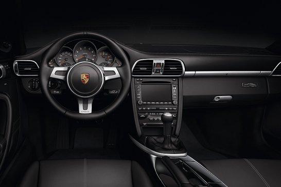 Porsche 911 Black Edition: Abklang in Schwarz