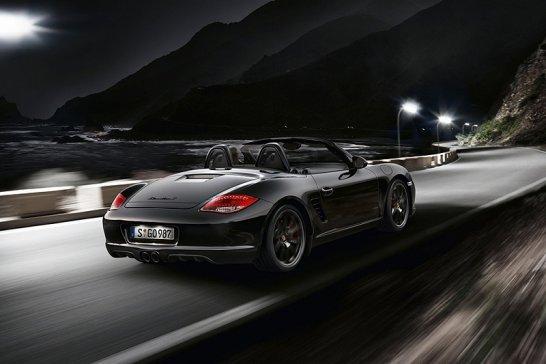 Porsche Boxster S Black Edition: Schwarz in schwarz