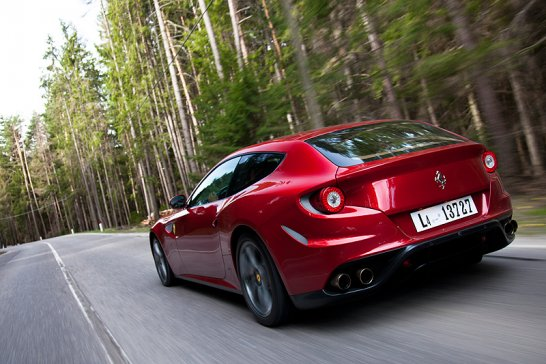 Driven: Ferrari FF... Four by Four by Four
