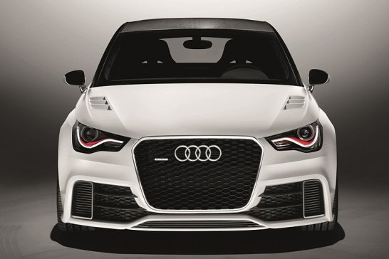 500bhp Audi A1 Clubsport Quattro Concept Debuts at the Wörthersee