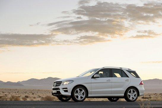 Mercedes M-Klasse: Der sparsame Enkel