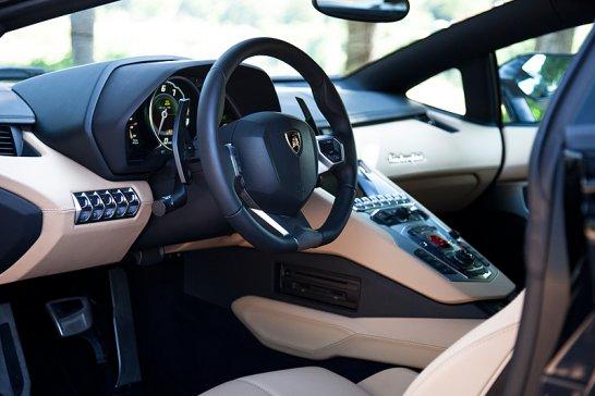 Lamborghini Aventador LP700-4: Gezielte Gewalteinwirkung