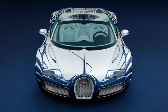 Bugatti 'L'Or Blanc': The 'flying saucer'