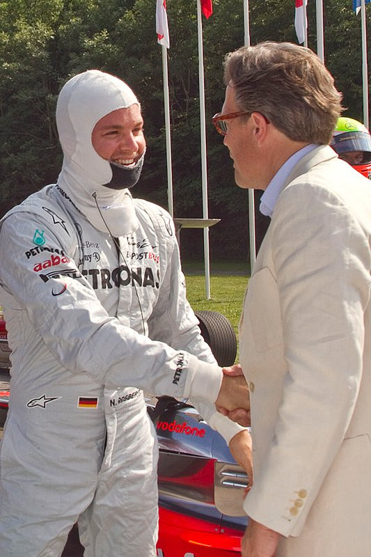 Goodwood Festival of Speed 2011: Picnics and power slides