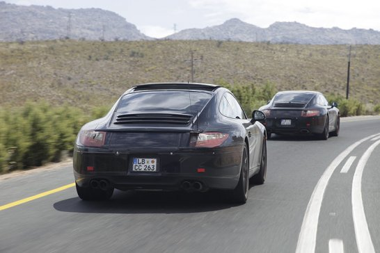 Test ride in the 2012 Porsche 911