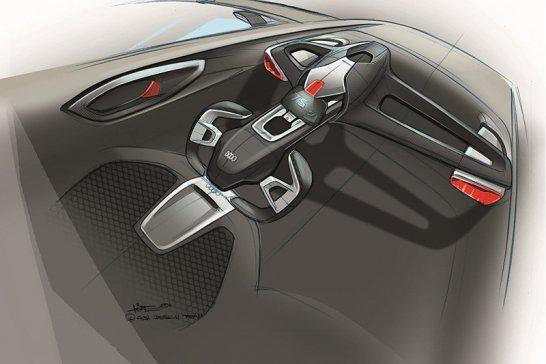 'Audi urban concept car' – electric '1+1'