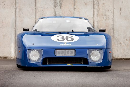 Blaues Wunder: Ferrari 512 BB LM Silhouette