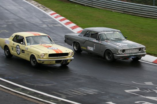 Oldtimer Grand Prix 2011 at the Nürburgring: Water power