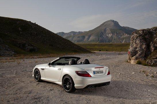 Mercedes-Benz SLK 55 AMG: Mehr Kraft, weniger Durst