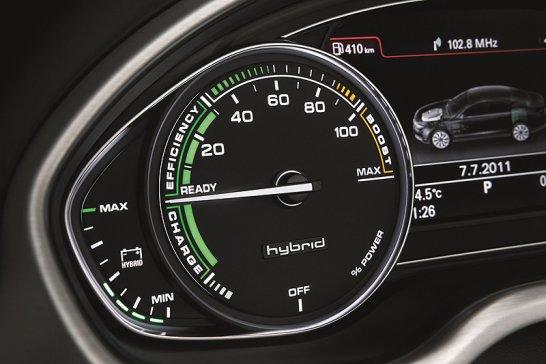 Audi A8 Hybrid: Manager im Flüstermodus