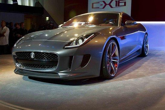 Jaguar C-X16: Preview im Palais Thurn & Taxis in Frankfurt