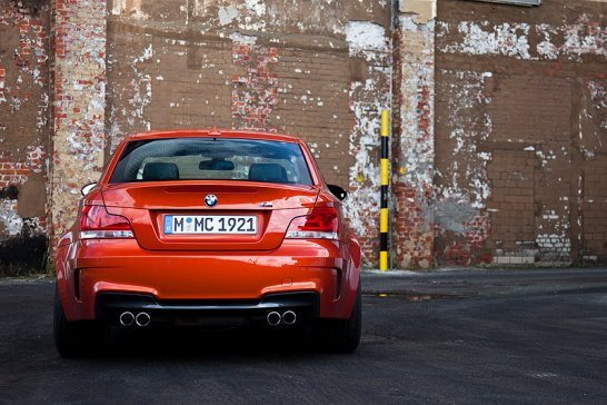BMW 1er M Coupé: Kleines Gewitter