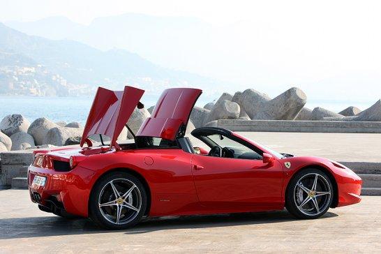 Ferrari 458 Spider: Harte Schale, echter Kerl