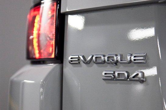 Range Rover Evoque SD4: Very en Vogue