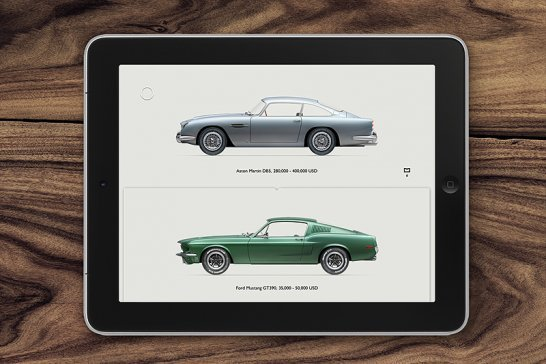 iPad-App Road Inc: Interaktives Hochglanz-Museum
