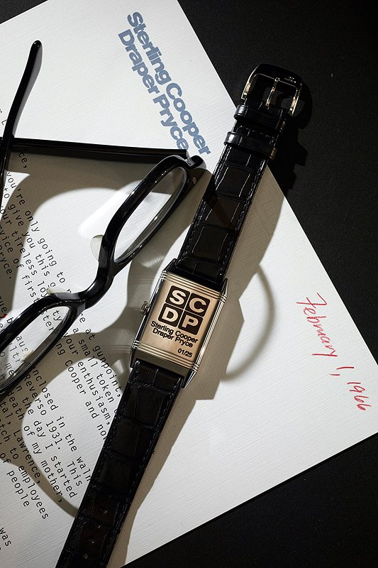 Jaeger-LeCoultre Reverso Ultra-Thin 'Mad Men'