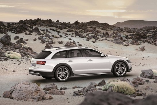 Audi A6 Allroad Quattro: Business Class hiking boots