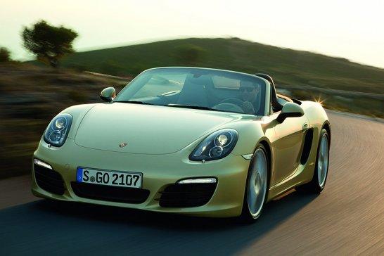 New Porsche Boxster: Economical athlete