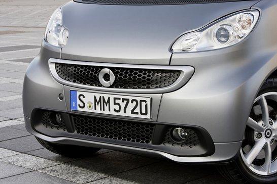 Smart Fortwo Electric Drive: Facelift bringt Elektroantrieb mit sich
