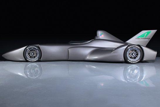 DeltaWing: Raketenwagen für Le Mans 2012