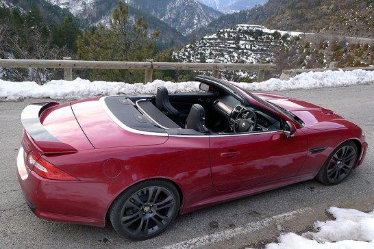 Jaguar XKR-S Cabriolet: Einmal Col de Turini und zurück
