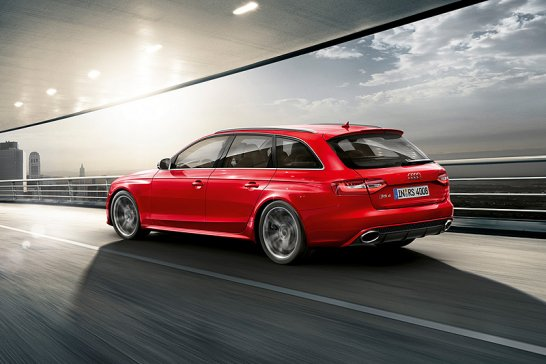 Genfer Salon 2012: Audi RS 4 Avant