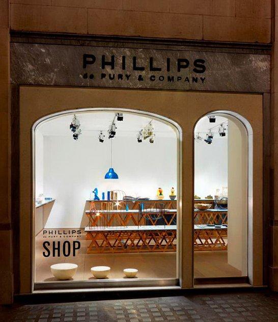 Phillips de Pury: Latest pop-up shop opens at Claridge's