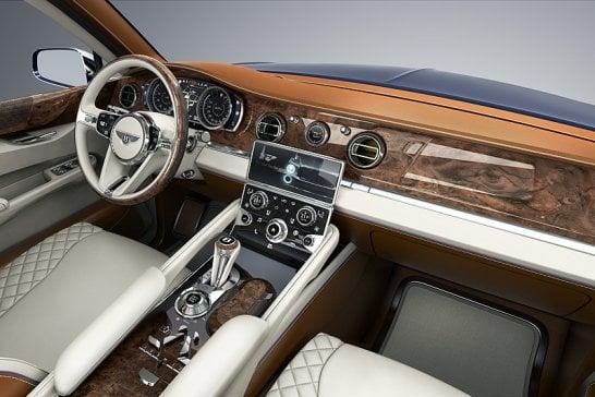 Bentley EXP 9 F: The long-awaited SUV
