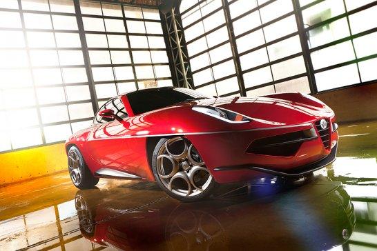 Geneva 2012: Disco Volante 2012 by Touring Superleggera