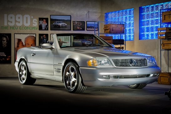 Mercedes-Benz SL goes to Hollywood: One Love