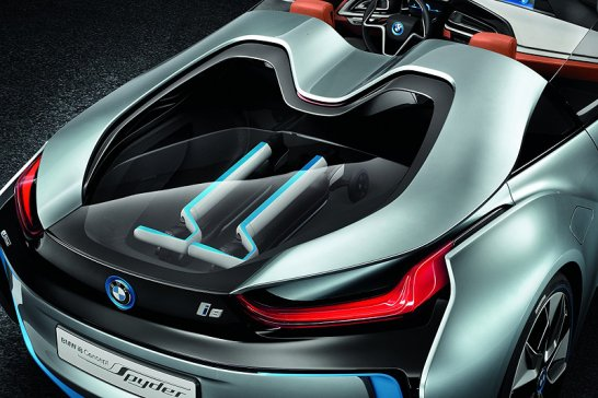 BMW i8 Concept: Now with no roof