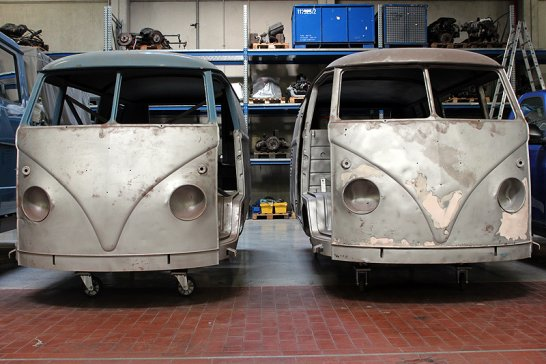 Maintaining the Magic Bus: VW's official restoration centre