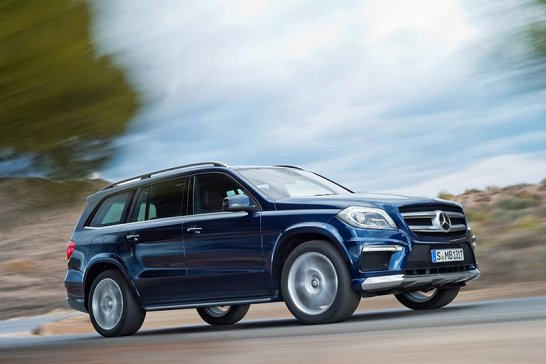 New Mercedes GL unveiled in New York