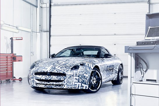All-new Jaguar 'F-type', on sale in 2013