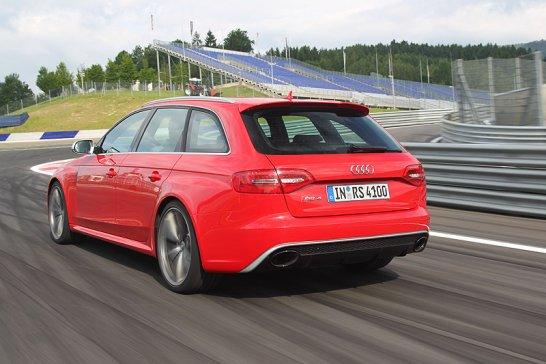 Audi RS4 Avant: Präzise Kraftentfaltung