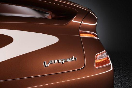 The 2012 Aston Martin Vanquish