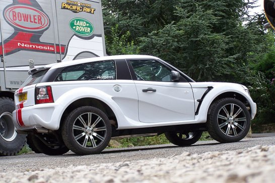Bowler EXR S: An off-road supercar - for the road